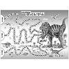 恐竜大すごろく:裏面の「ティラノサウルスのぱっくん!ゲーム」