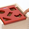 Mポストボックス:指がはさまりにくいように、すきまを大きめに設計しています。