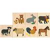 キーナー動物ドミノ:使われている7種類の絵柄