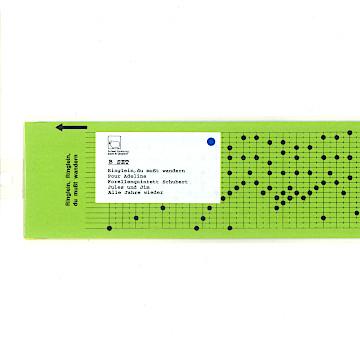 パンチカード セットBセット(5枚)