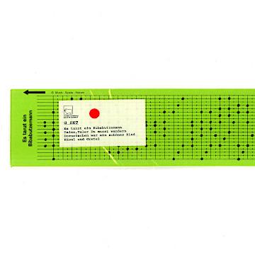 パンチカード セットGセット(4枚)
