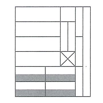 M積木(小)/ ムンツ積み木(小)A11-6 色 2405