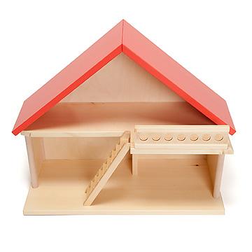 バウアー社の人形の家家具付人形の家 家のみ