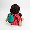 人形用リュックサック:ジルケ人形(大)に背負わせたイメージ(人形は別売)