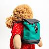 人形用リュックサック:ジルケ人形(小)に背負わせたイメージ(人形は別売)