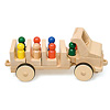 Nダンプカー:N2人乗りシートを3列乗せるとN8人乗りトラックになります。