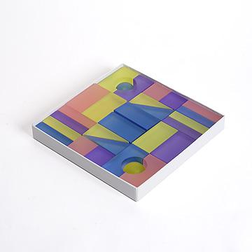 Lumiブロック紙箱入りパステル