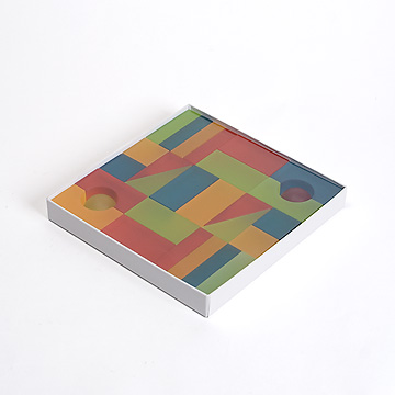 Lumiブロック紙箱入りビタミンカラー