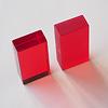 Luxyブロック(紙箱入)クリア:右がLumi、左がLuxy