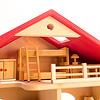 庭付き人形の家:ドライブレッター社の子ども部屋セット(別売)