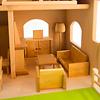 庭付き人形の家:ドライブレッター社の居間部屋セット(別売)