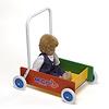 Mベビーウォーカーマルチ:人形のベビーカーとして(ベビーウォーカーの色は古いタイプです)