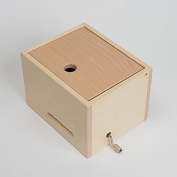 ミュージックボックス(大)白木