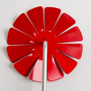 風車 アルミ赤