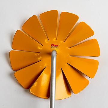 風車 アルミ黄