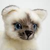 ねそべり猫(小)ヒマラヤン: