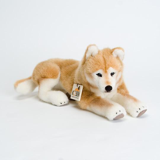 柴犬ソフト伏せ:おもちゃ:百町森