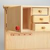 N木製キッチン用収納棚: