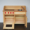N木製キッチン: