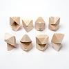 タワ 白木:2個重ねを8パターン