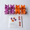 限定ネフスピール : hcm40(百町森40周年記念):内容物イメージ。相沢が考案した6色のパターンを撮り下ろしたパターン表付き。
