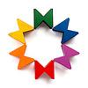 限定ネフスピール : hcm40(百町森40周年記念):通常のネフスピールと合わせると、このような6色になります。