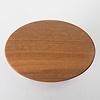 楕円テーブル:上から見ると