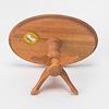 楕円テーブル:テーブル裏面