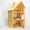 ボーデン湖ハウス3階建 完成品:ドライブレッター社の家具、ヘアビック社の人形との組み合わせ(別売です)