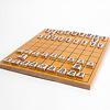 木製将棋駒(天童産・裏赤):将棋盤は別売です。