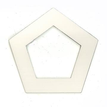 ローズウィンドウ枠各種五角形