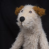 パペット ルッツ/テリアベージュ:手人形なので…