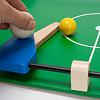 木製キックサッカー:フリッパーは、センターラインを超えることはできません。