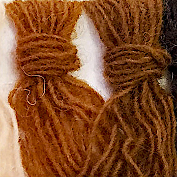 【キット】赤ちゃんラッセ(縫製有)ラッセ 濃茶・肌色・縫有