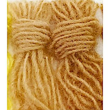 【キット】赤ちゃんラッセ(縫製有)ラッセ 薄茶・肌色・縫有