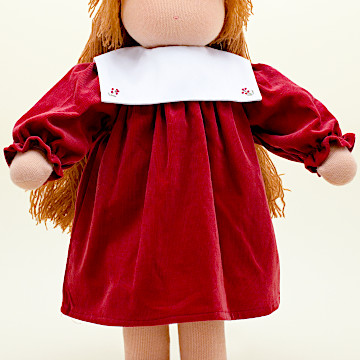 C体用ワンピースbセーラー衿(厚手)C体用ワンピースbセーラー衿(厚手)赤系