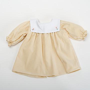 C体用ワンピースbセーラー衿(厚手)C体用ワンピースbセーラー衿(厚手)黄系
