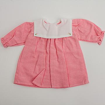 C体用ワンピースbセーラー衿(薄手)C体用ワンピースbセーラー衿(薄手)赤系