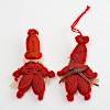 【キット】赤い毛糸のトムテ(2体):