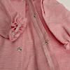 C体用ロールカラーのワンピース(ピンク):