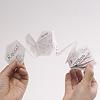 Rocca Classics(ロッカ・クラシック):同封の説明書も六角形がつながった形。デザインも素敵。