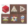 Rocca Card Blocks(ロッカ・カードブロック):Roccaを並べたパターン表。アイデアは相沢が考えました。