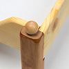 ブッツェベッド ふとん付き(50cm):脚の上にある木玉を外すと