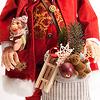MAXIマリオネット サンタクロース:プレゼントをいっぱい付けています