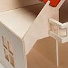 RKドールハウス バルコニー付(白木):板は合板、ビス止めです。