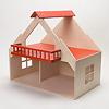 13193 バルコニー付きの家 赤(床赤):屋根を外すと2階の遊びやすさはぐんとアップ。