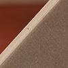 13193 バルコニー付きの家 赤(床赤):合板には穴(ヌケ)があります。