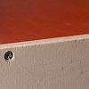 13193 バルコニー付きの家 赤(床赤):合板の切断面やビス穴には欠けがある場合もあります。
